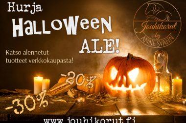 Halloween ALE verkkokaupassa!